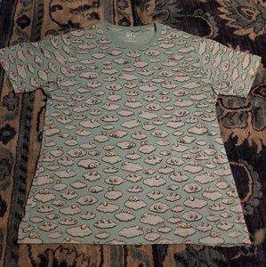 Kaws x Uniqlo Clouds shirt